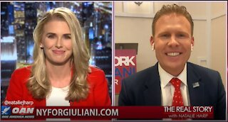 The Real Story - OANN Saving New York with Andrew Giuliani