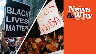 DESPICABLE! Black Lives Matter DEFENDS Cuban Communist Regime | Ep 821