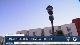 Smart Streetlight cameras shut off