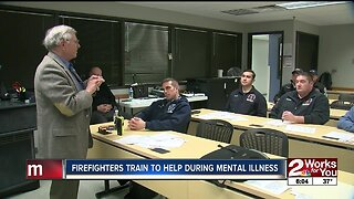 Firefighters train to help during mental illness