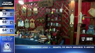 Woodworking couple's Strawberry Festival dreams come true