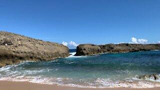 Beautiful beach in Puerto Rico