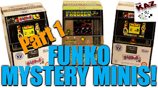 Dig Dug / Frogger Funko Mystery Minis Unboxing Part 1 of 2