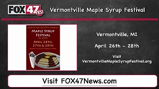Around Town Kids 4/26/19: Vermontville Maple Syrup Festival