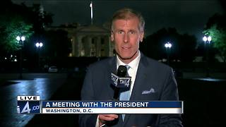 TODAY'S TMJ4's Charles Benson meets with President Trump
