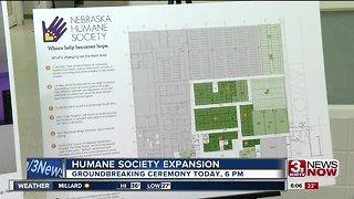 Nebraska Humane Society hosting groundbreaking ceremony Thursday