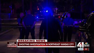 Man dead, woman critically injured in northeast KC double shooting