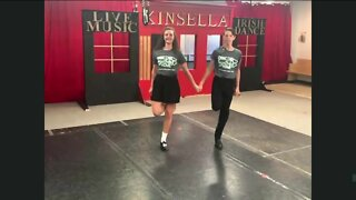 Watch a live performance from two Celctic Dancers