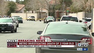 Police investigating death of 2-year-old
