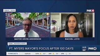 A Minute with the Mayor: 100-day milestone