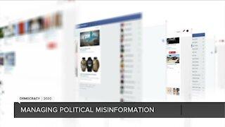 Managing political misinformation