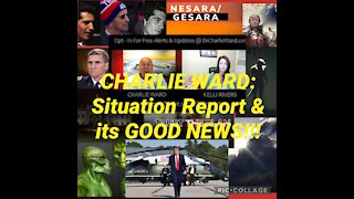 Charlie Ward Situation Update: Disclosure, QFS, MSM, Biden, Reptilians, & more!