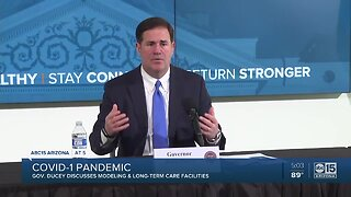 Governor Ducey holds first coronavirus briefing in eight days