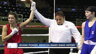 Teen boxer makes history