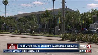 Police stand-off ends after 6-hours in Fort Myers
