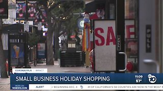 Businesses urge San Diegans to shop small