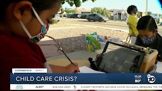 Child care providers demand support from state
