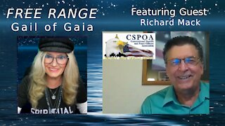 FREE RANGE: Gail of Gaia Talks To Constitutional Sheriff & Founder of http://cspoa.org Richard Mack