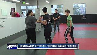 Organization offers free self-defense classes