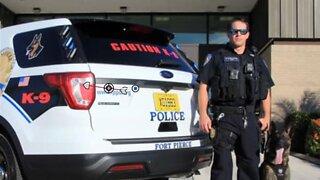 Fort Pierce police officer turns himself in