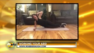 Home exercises with Robbie Raugh