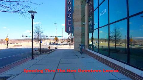 Speeding Thru The New Downtown Lenexa