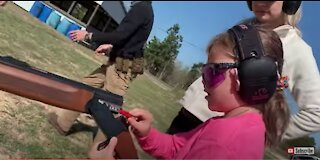 Skeet Shooting w/8 Year Old Phenom, Autumn from Autumn's Armory!!
