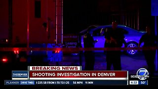 Shooting in Denver leaves one wounded as police investigate
