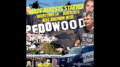 CHARLIE WARD & MCALLISTER TV HIGHLIGHTS: HOLLYWOOD ARRESTS