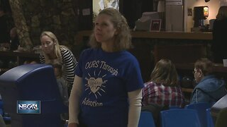 Families with adopted children come together