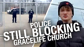 Police, private security continue to occupy GraceLife Church