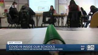 COVID-19 inside Arizona schools