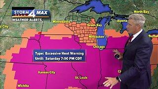 Heat advisory starts Friday