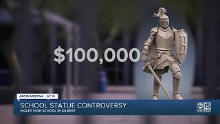 Statue slated for Higley High causing controversy with $100k price tag