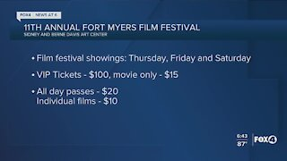 The 11th Annual Fort Myers Film Festival is this weekend