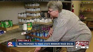 Bill proposed to make state minimum wage $10.50