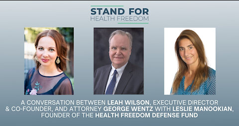 Leah Wilson Interviews George Wentz | Challenge Mask Mandate to Fly | Stand for Health Freedom