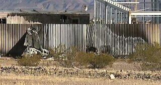 Small plane crashes in SW Las Vegas