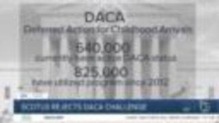 SCOTUS rejects DACA challenge