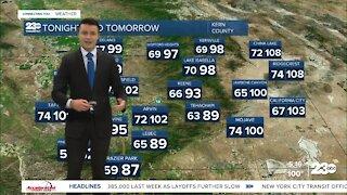 23ABC Evening weather update June 3, 2021