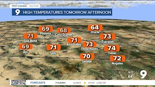 Warming trend comes back to southern Arizona