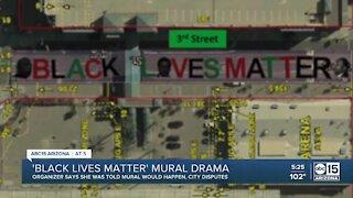 Black Lives Matter mural drama