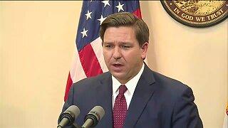 Gov. Ron DeSantis talks coronavirus, Florida budget
