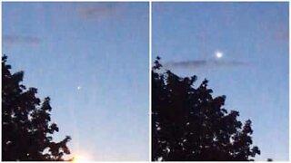 OVNI é filmado no céu de Londres