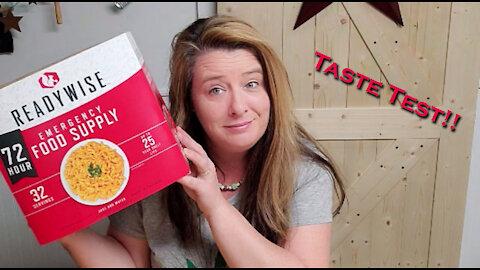 ReadyWise 72 Hour Emergency Food Kit ~ Long Term Food Storage ~ Prepper Pantry