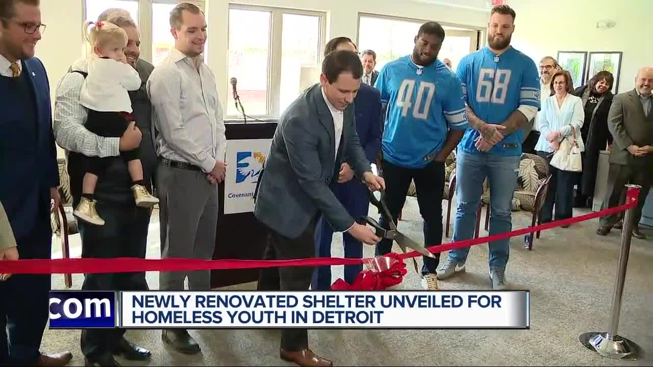 Covenant House Michigan unveils renovated Caritas emergency shelter for homeless youth
