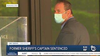 Former Sheriff's Captain Sentenced