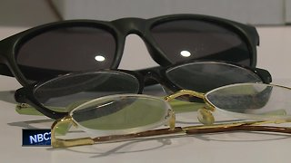UWGB collect donated glasses