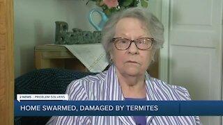 Elderly Tulsa woman finds solution against termite infestation