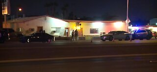 Police investigating a homicide in the east valley